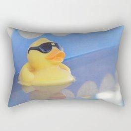 Rebel Duck Rectangular Pillow