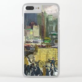New York, 1911 by George Bellows Clear iPhone Case