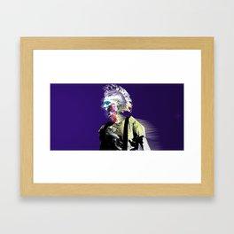 Un Nouveau Garçon (night version) Framed Art Print