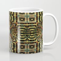 stargate Mugs featuring Stargate - Mayan Edition by Lyle Hatch