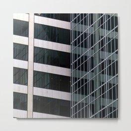 Manhattan Windows - Intersection Metal Print