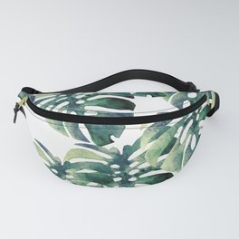 Monstera Pattern Fanny Pack