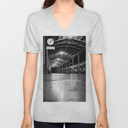 Turkey Train Station Unisex V-Neck