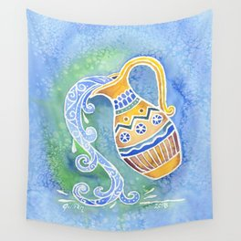 Zodiac Collection: Aquarius Wall Tapestry