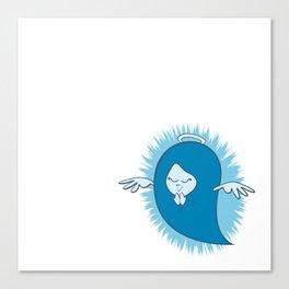 She's An Angel Canvas Print