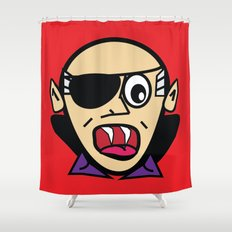 DracO Shower Curtain