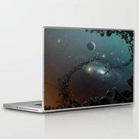 big bang Laptop & iPad Skins featuring Big Bang by SwanniePhotoArt