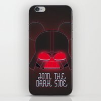 vader iPhone & iPod Skins featuring Vader  by danvinci