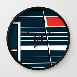 Biblioteca Ingeniería -Detail- Wall Clock