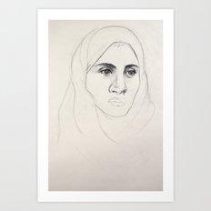 Abrar Art Print