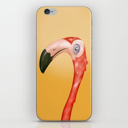 Pablo the flamingo iPhone Skin