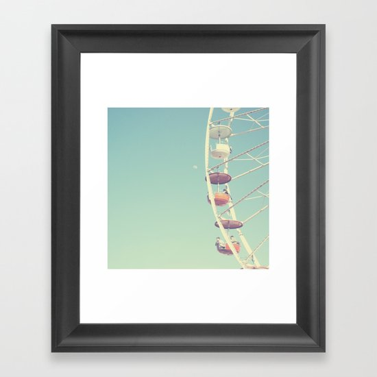 Touch the Moon Framed Art Print