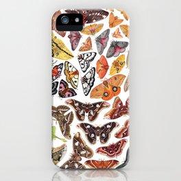 Saturniid Moths of North America iPhone Case