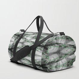 Frosted Gamma Pattern 2 Duffle Bag