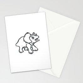 Baby dinosaur Stationery Cards