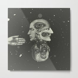 COSMIC ANATOMY  Metal Print