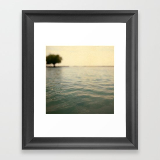 Sea Level Framed Art Print
