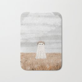There's a Ghost in the Meadow Bath Mat