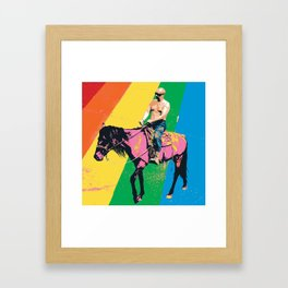 Putie Framed Art Print