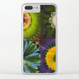 Counterhypothesis Harmony Flowers  ID:16165-102147-41840 Clear iPhone Case