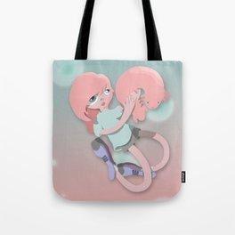 Axolotl girl  Tote Bag