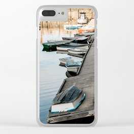 New England Skiffs Clear iPhone Case