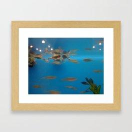 Frogs! Framed Art Print