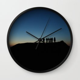 Friends & Sunrise Wall Clock