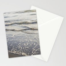 Pacific Waves at Sunset Stationery Cards