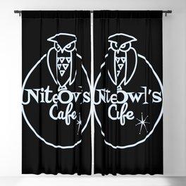 Nite Owl's Cafe Blackout Curtain