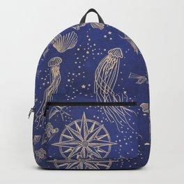 Ocean Meets Sky - Hardcase Backpack