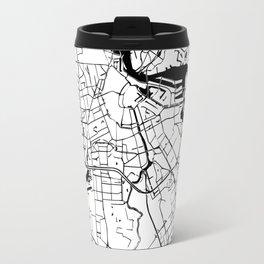 Amsterdam Minimal Map Travel Mug