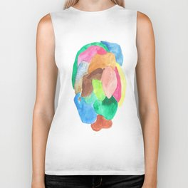 171013 Invaded Space 14 |abstract shapes art design |abstract shapes art design colour Biker Tank
