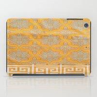 "orange pattern iPad Cases featuring OrangE paTTern by ""CVogiatzi."