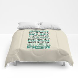 Lab No. 4 When You Are Courting Albert Einstein Famous Life Inspirational Quotes Comforters