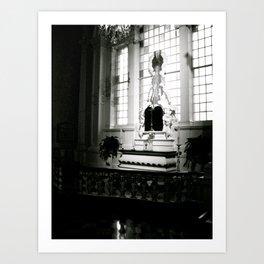 WHITEOUT : Confession Art Print