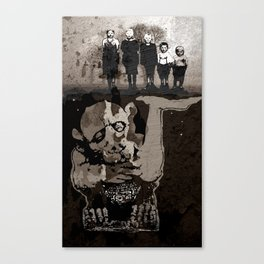 The GARGOYLE and the LOST GENERATION Canvas Print