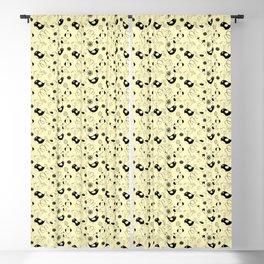 Cute cartoon birdies, simple animal illustration Blackout Curtain