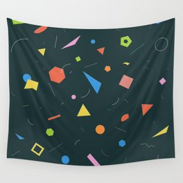Polygon Soup Wall Tapestry