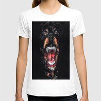 givenchy T-shirts featuring Givenchy Dog by I Love Decor