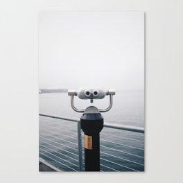 Seattle Waterfront, washington state Canvas Print