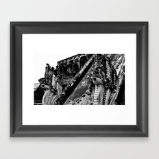 Ancient Temple Framed Art Print