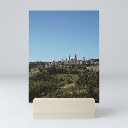 view of San Gimignano Mini Art Print