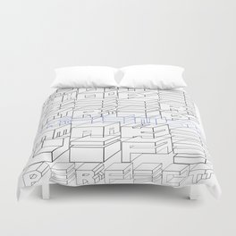 Love hope beer trip friends make life perfect Duvet Cover