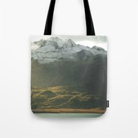 alaska Tote Bags featuring Alaska by Parissis