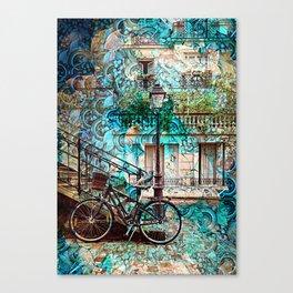 Amsterdam City Trip Canvas Print