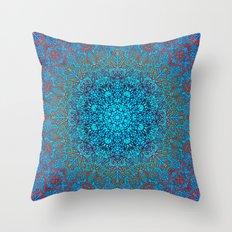 Mehndi Ethnic Style G348 Throw Pillow