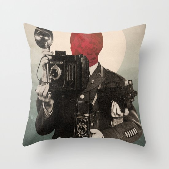 Solar Lens Throw Pillow