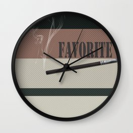 A gift for a man . Favorite male .2 Wall Clock