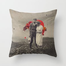 By My Side Throw Pillow